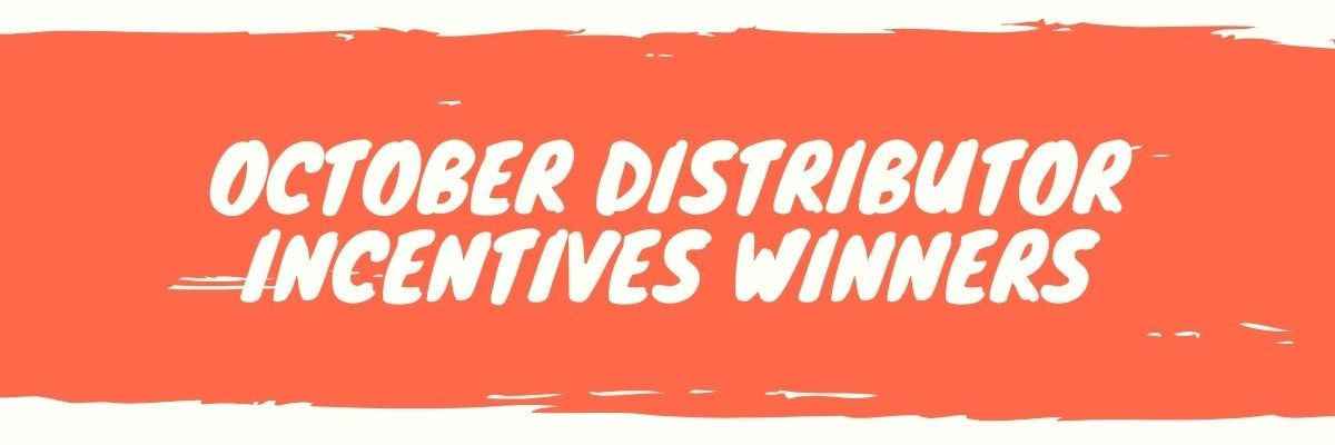 October Incentive Winners